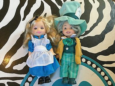 Kelly & Tommy As Alice In Wonderland And The Mad Hatter Collector Edition Barbie