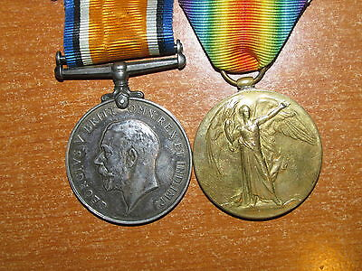 WW1 British Medal Group named to Machine Gun Corps nice