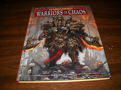 Warhammer Armies Warriors of Chaos (2012) Hardcover Army Book