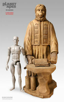 """Sideshow  LAWGIVER  PLANET of APES  18"""" STATUE   Figure new   no used  hot toys"""