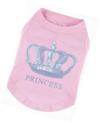 EXPAWLORER Prince Fashion Pet T-Shirt Small Dog Cat Vest Clothes Puppy Costumes