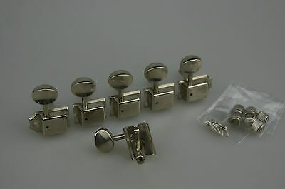 Fender Modern Player Tele Telecaster TUNERS Tuning Pegs Chrome 0669