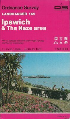 Landranger Maps: Ipswich and the Naze Ar... by Ordnance Survey Sheet map, folded