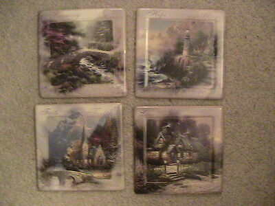 Bradford Exchange Thomas Kinkade Collector Plates Wall Decor Lot