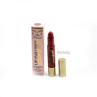 TOO FACED Lip Injection Color Bomb Moisture Plumping Lip Tint EASTWOOD RED