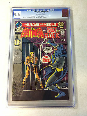 Brave And The Bold #96 Cgc 9.6 Batman, Sgt Rock, 1971, Traitor!!