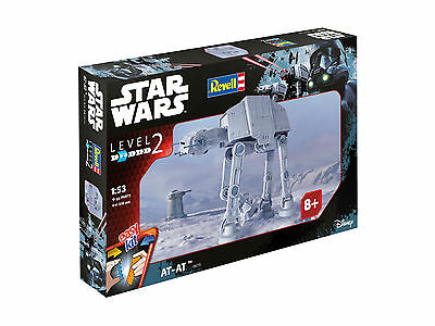 Revell easykit 06715 Star Wars AT-AT Angriffsläufer Modellbausatz 1:53 Level 2