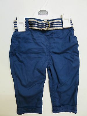 Baby boys trouser chino jersey lined M & S 3 6 9 12 18  24 months RRP £12 *NEW*