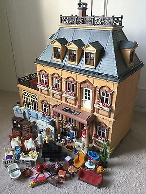 Playmobil Grand Victorian Mansion House 5300 With Furniture Sets People & Pets