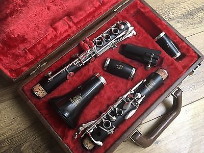 OVERHAULED Boosey  and Hawkes WOODEN EMPEROR Bb clarinet
