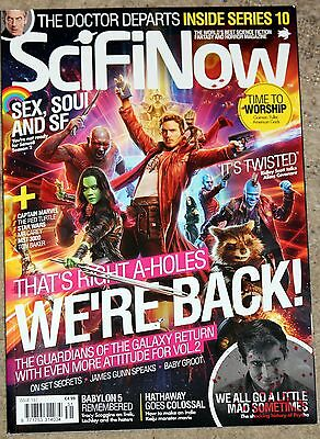 Sci-Fi Now - Issue 131 - Guardians of the Galaxy 2 - Dr Who - Psycho - Babylon 5