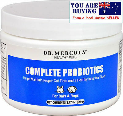 Dr. Mercola Complete Probiotics for Pets 90 g. for Pet Digestive Health