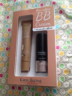 KARIN HERZOG : Coffret BB cream + Pinceau poudre libre Egyptian Earth Magic Fair