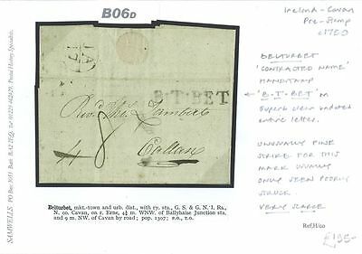 B06d 1750 IRELAND Belturbet contracted namestamp/Callan