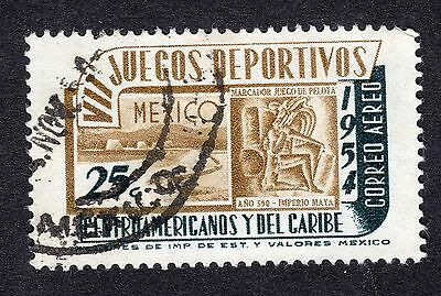 1954 Mexico 25c 7th Central American Games SG 919 FINE USED R19839