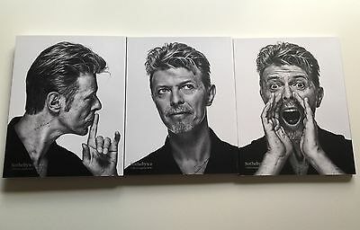 DAVID BOWIE ART COLLECTION - SOTHEBY'S  AUCTION CATALOGUES - 1,2,3 brand new