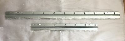 MACHINE KNITTING Ribbing Attachment 2 X Cast on Combs BROTHER SILVER+ (ref 2)