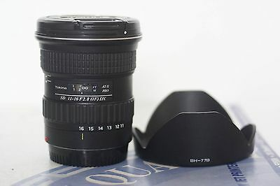 Tokina 11-16mm f/2.8 lens for Canon EF-S cameras