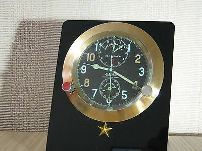 Rare. Jaeger LeCoultre, 1930, AirForce Cockpit Clock,  WWII
