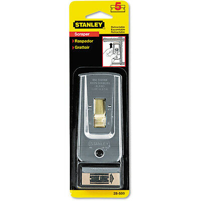 STANLEY Bostitch Razor Blade Paint,Glue, Adhesive Scraper with 5 Single-Edge NEW