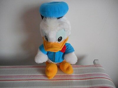 Donald Duck Vintage Disney 12 Inch Soft Toy Duck