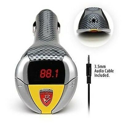 SoundRacer V12 - Ferrari 512 Engine Sound Effect FM Transmitter MP3