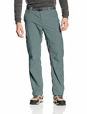Columbia Men's Silver Ridge Cargo Pant, Pond, 36 x 32