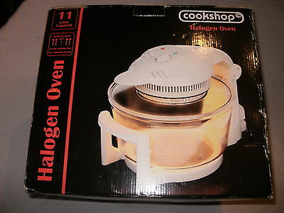 Cookshop Halogen Oven 11 Litre Capacity Unwanted Gift Unused.