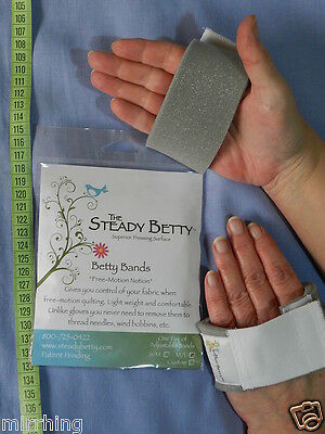 Steady Betty - Betty Bands, Medium/Large - For controlling fabric when quilting