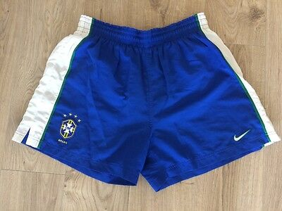 Brazil 1998 World Cup Shorts - Extra Large