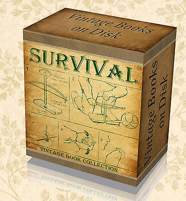 235 Rare Wilderness Survival Bushcraft Books on DVD Camping Trapping Skills 42