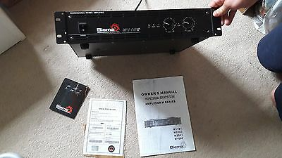 Biema W110II Power Amplifier boxed with manual