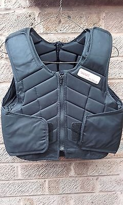 Black Smart Rider Body Protector - Level 3  - Childrens Large