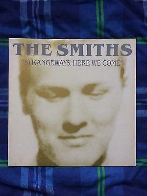 "The Smiths Strangeways Here We Come Vinyl 12"" LP Original"