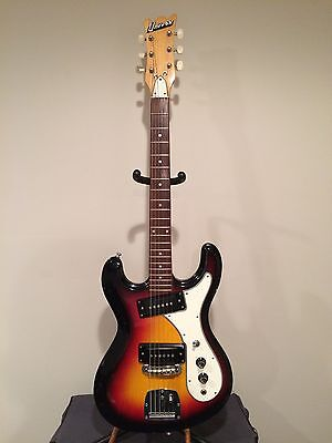 Univox Hi Flier Phase 2 Vintage Guitar-Sunburst Early 70's Model