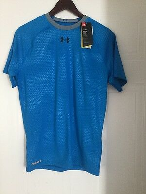 Under Armour Men's Compression Training Shirt 1272842 405 SZ XL Brand New
