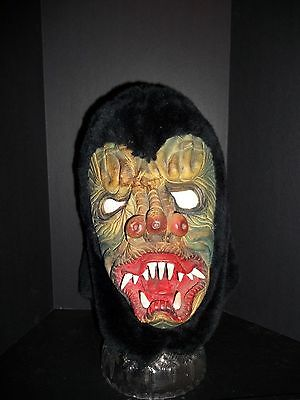 Vintage Top Stone Halloween Mask Danbury CT