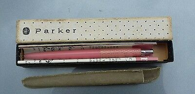 PARKER PRINCESS JOTTER Ballpoint Pen in PINK FISHSCALE BOXED INSTRUCTIONS