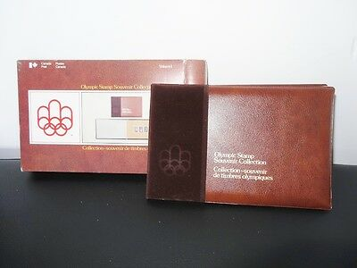 MNH Montreal Canada 1976 OLYMPIC STAMP souvenir collection VOLUME 1 #9