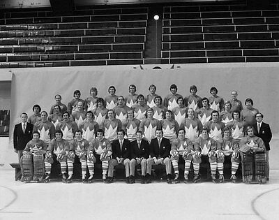 Team Canada Summit Series 1972 Unsigned 8x10 Photo