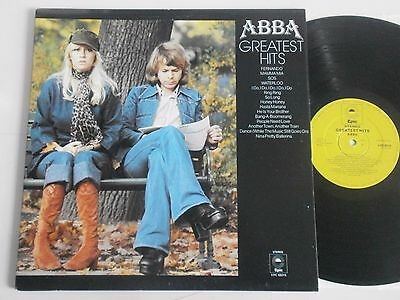 Abba Greatest Hits. 15 Track Vinyl LP EX+ Barely Played