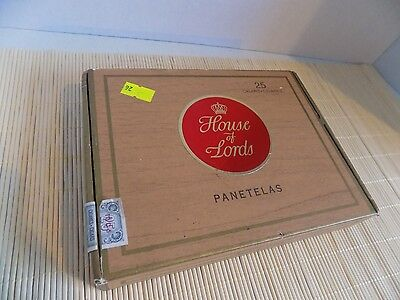Vintage House of Lords Cigar Box Canada Duty Paid Sticker