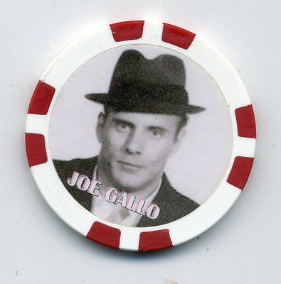 Joe Gallo Gangster  Collector Chip