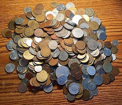20th Century Europe Coin Collection:Russia, Belgium,Netherlands etc. 1700+ Grams