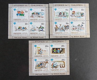 Penrhyn 1979 Year of Child SG133/44 sheetlets as photo UM MNH unmounted mint