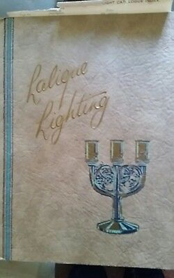 Lighting catalogue from Brevet gallery in London of Rene Lalique lights