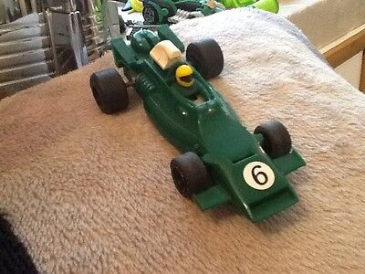 BRM P160 Scalextric Car in green No6