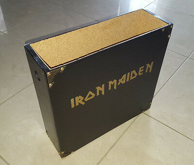 Iron Maiden - Vinyl Lp Albums Collection Wooden Box Only New