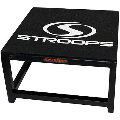"Stroops 12"" A-Frame Economy Stackable Plyometric Box"