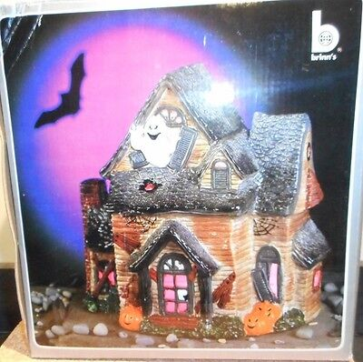 Vtg Halloween<>BRINNS HAUNTED HOUSE 1987